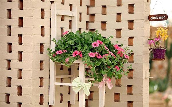 com material reciclado Casas decoradas com material reciclado
