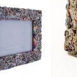 porta retrato reciclado