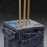 ideias reciclar calca jeans