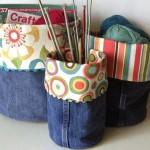 reciclagem calca jeans