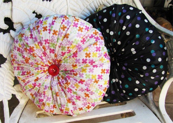 almofadas de guarda chuva