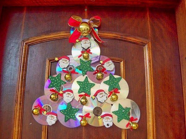 Artesanato De Natal Reciclado ~ Reciclagem no Meio Ambiente u2013 O seu portal de artesanato com material reciclado 12 ideias de