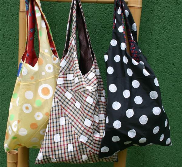 puxa sacos com guarda chuva