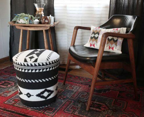 Reciclagem no meio ambiente o seu portal de artesanato - Como forrar una silla de escritorio ...