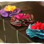Como fazer flores com sobras de materiais