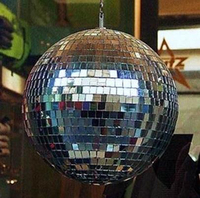 Como fazer um globo de discoteca com cd usado - Bolas de madera para manualidades ...