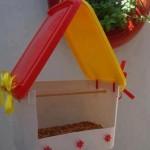 Como fazer uma casa de passarinho com embalagem de sorvete