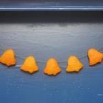 Artesanatos de Natal feitos com casca de laranja são lindos e cheirosos (Foto: factorydirectcraft.com)