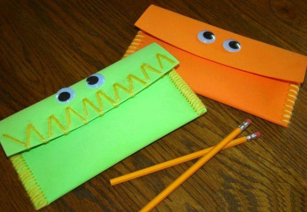 Artesanato para volta às aulas é ótima saída para passar o tempo de forma criativa (Foto: aboutamom.com)