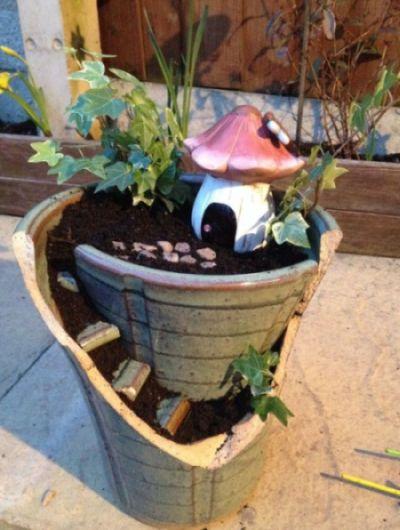 Reciclagem no meio ambiente o seu portal de artesanato for Como criar caracoles de jardin