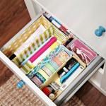 Este organizador de gavetas feito com caixas de cereal é prático, pois você pode mudar as partes de lugar (Foto: iheartorganizing.blogspot.com.br)