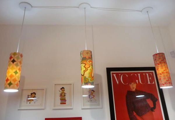 Luminária de teto reaproveitando PVC é sustentável e linda (Foto: blog.elo7.com.br)