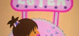 Guirlanda Porta Maternidade Feita com Material Reutilizado