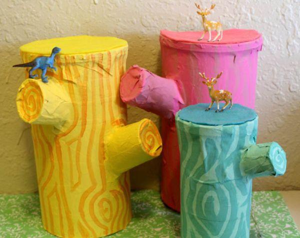 Este artesanato com pote de batata pode ter a cor que você quiser (Foto: punkprojects.com)