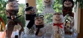 Escolha a sua preferida, entre muitas ideias de decoração de Natal 2015 com reciclagem (Foto: upcycled-wonders.com)