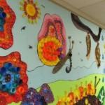 Mural Escolar Infantil Feito com Reciclagem