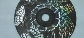 Reciclagem Decorativa com CDs Antigos