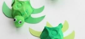 Reciclagem de Caixa de Ovo de Papel