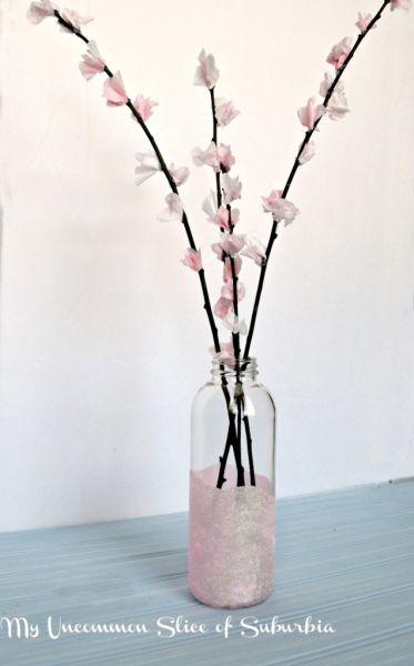 Vaso de plantas com material reciclado é lindo e barato (Foto: myuncommonsliceofsuburbia.com)