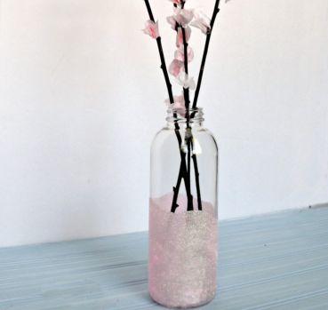 Vaso de Plantas com Material Reciclado