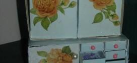 Gaveteiros com Caixa de Fósforos