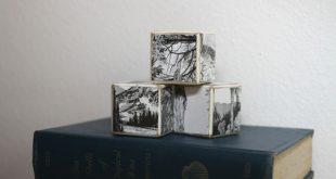 Todos irão adorar a sua reciclagem com blocos de madeira (Foto: trashycrafter.com)
