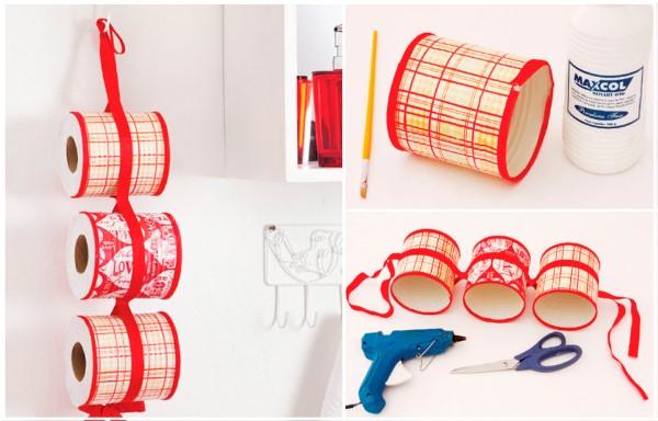 Reciclagem no Meio Ambiente – O seu portal de artesanato com material recicla -> Banheiro Decorado Com Material Reciclado
