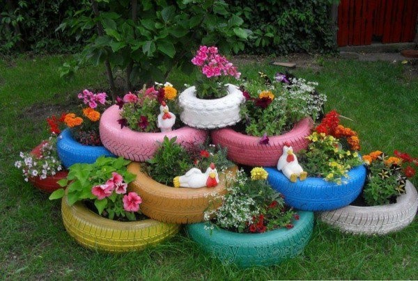 decoracao-de-jardim-reciclada