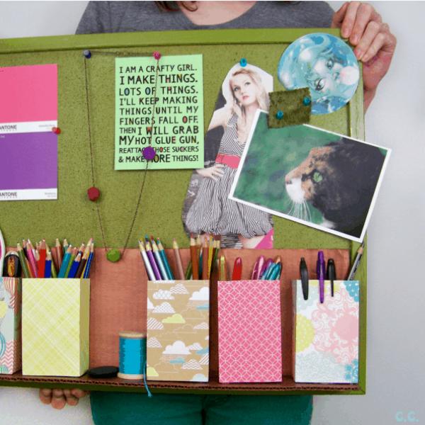 ideias-para-organizar-usando-materiais-reciclados