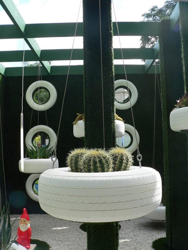 reciclagem-para-jardim-com-pneus