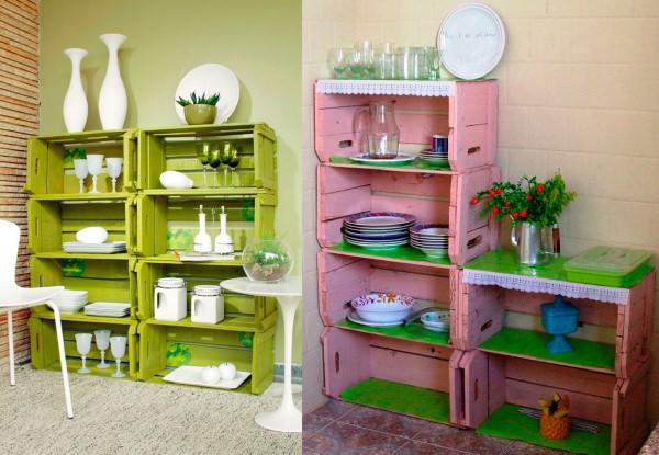 Reciclagem no meio ambiente o seu portal de artesanato for Armarios reciclados