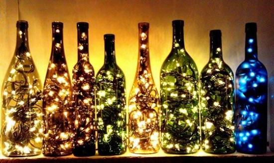 artesanatos com garrafas