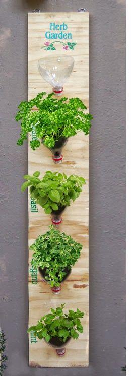 como fazer reciclagem de garrafa pet para plantar