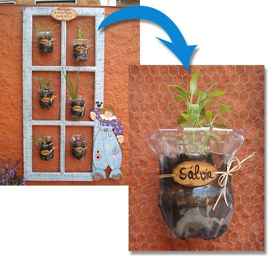 dicas para reciclagem de garrafa pet para plantar como fazer