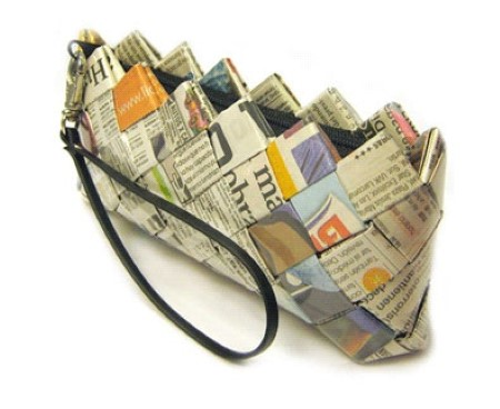 dica de bolsas recicladas
