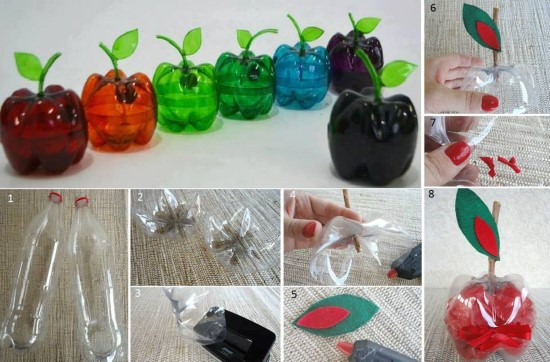 ideia de reciclagem fácil e criativa