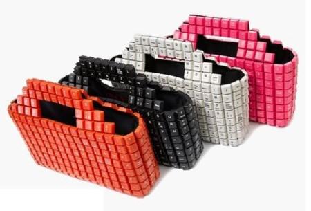 opçoes de bolsas recicladas