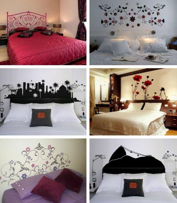 cabeceira de cama de papel cotnact
