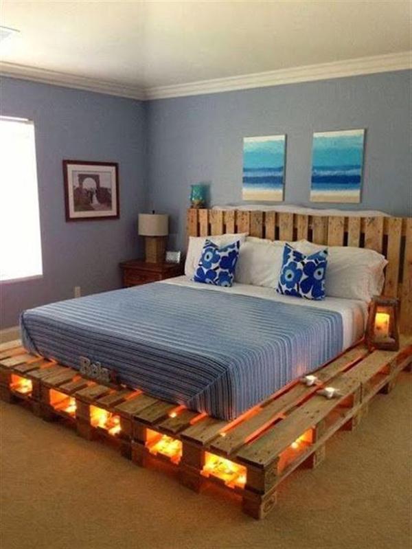 movel reciclado cama