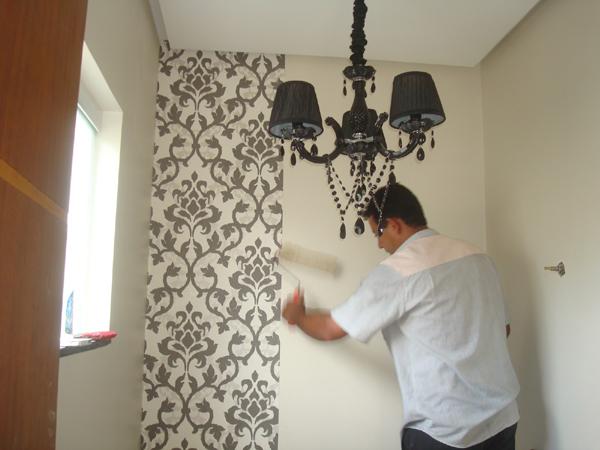 passo a passo papel de parede