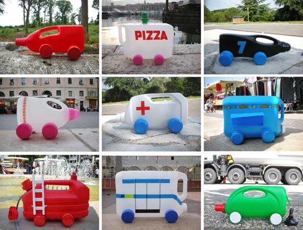 brinquedo com sucata carros