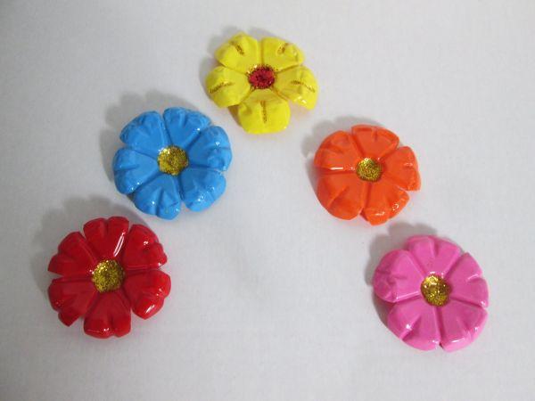 flor de pet colorida