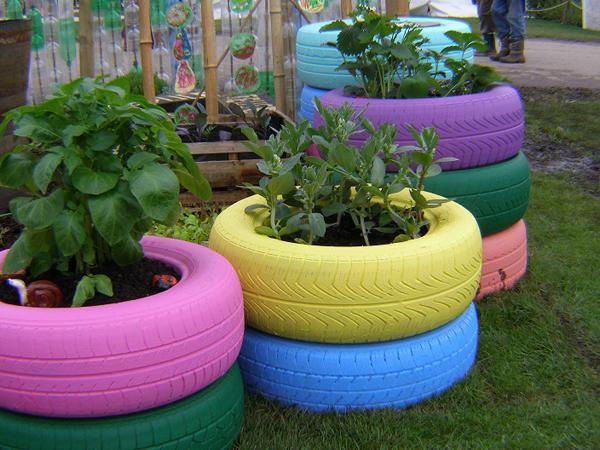 reciclagem de pneu simples