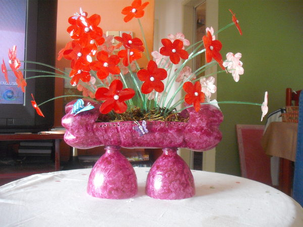 flor de pet diferente