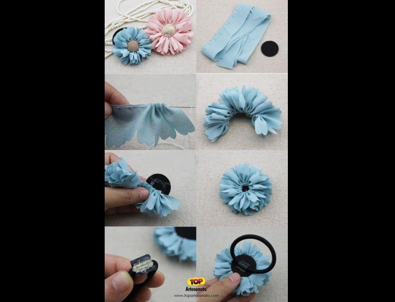 elastico para cabelo