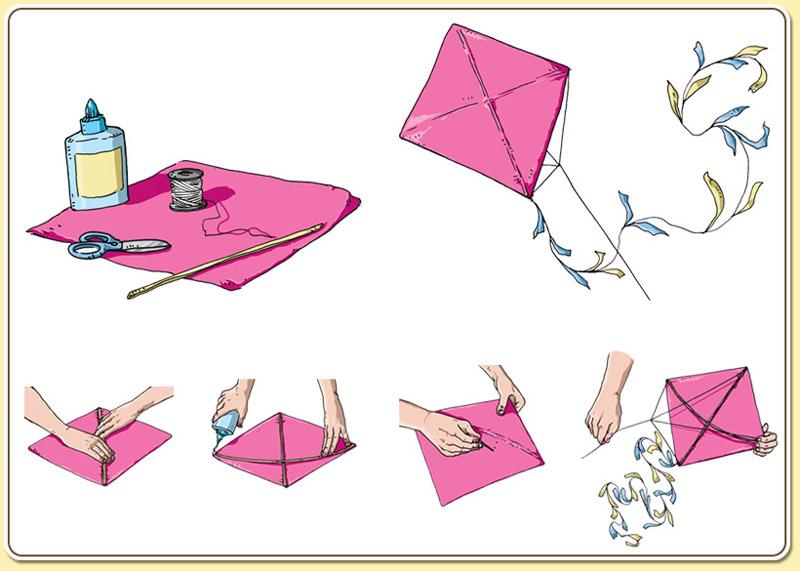 pipa de papel passo a passo