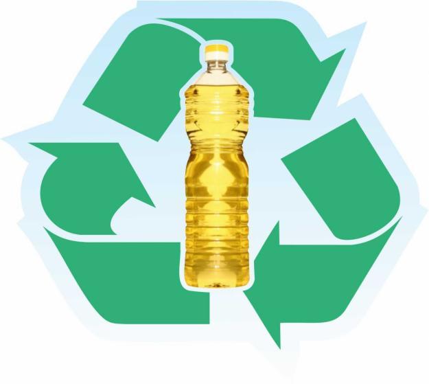 oleo cozinha reciclado