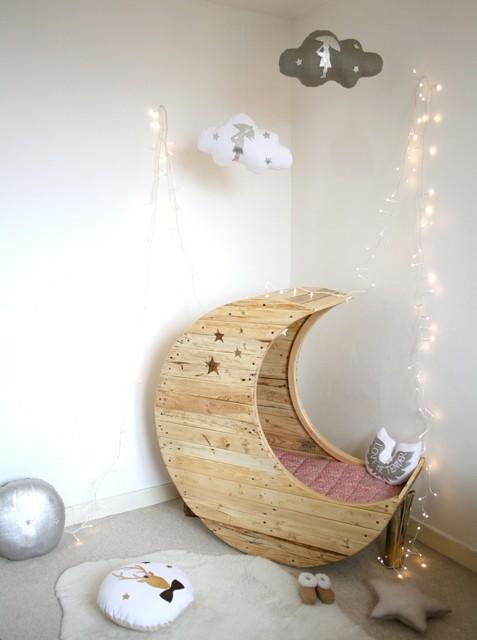 Reciclagem no meio ambiente como decorar um quarto de beb - Babybett mond ...