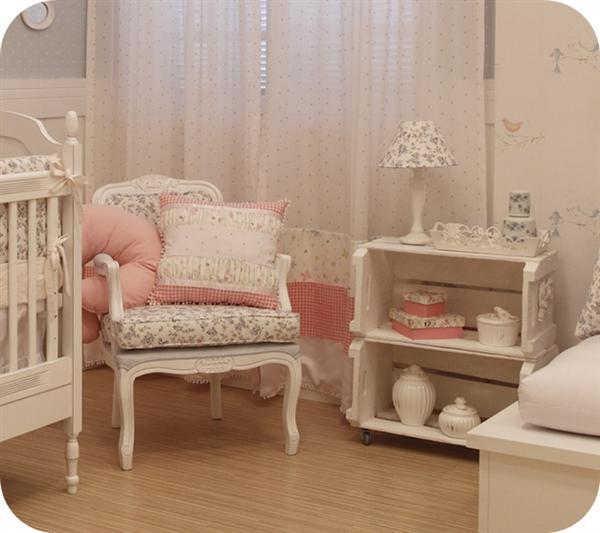 Reciclagem no meio ambiente como decorar um quarto de beb - Cunas rusticas para bebes ...