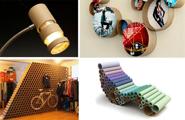 Reciclagem no meio ambiente objetos decorativos feitos com for Objetos decorativos casa